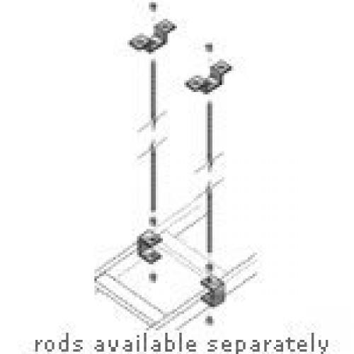 BLACK BOX RM659-R3 Ladder Rack Threaded Ceiling Kit
