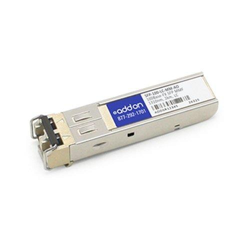 Add-onputer Peripherals, L SFP-100-LC-MM-AO Alcatel-Lucent SFP Transceiver Provides 100Base-FX