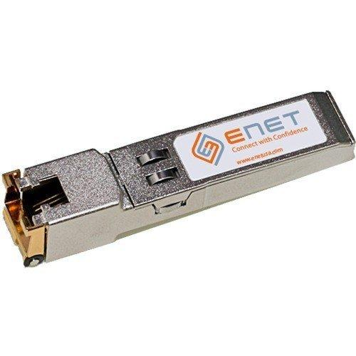 10/100/1000BASE-T Copper SFP RJ45 100m Meraki Compatible - For Data Networking - 1 x 10/100/1000Base-T LAN - Category 6 Twisted Pair - 1 Gbps Gigabit Ethernet - MA-SFP-1GB-TX-ENC