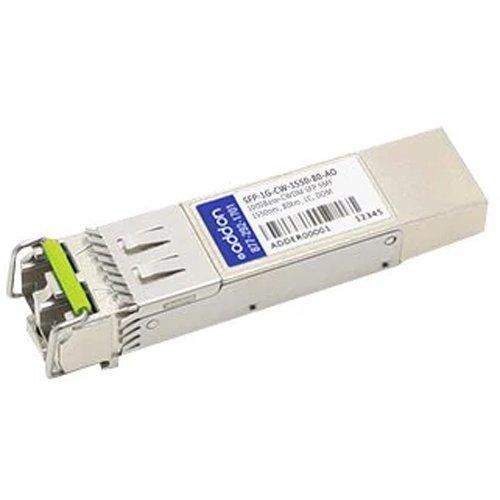 AddOn Arista Networks Compatible TAA Compliant 1000Base-CWDM SFP Transceiver (SMF, 1550nm, 80km, LC, DOM)