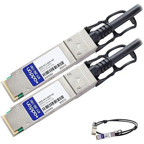 Add-onputer Peripherals, L QSFP-40G-ADAC10M-AO Msa Compliant 40Gbase-Cu Qsfp Plus To Qsfp Plus Direct Attach Cable Active Copper