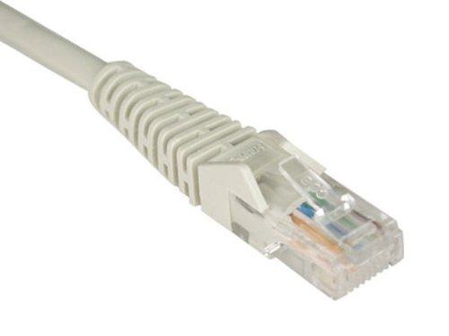 Tripp Lite Cat5e 350MHz Snagless Molded Patch Cable (RJ45 M/M) - Gray, 30-ft.(N001-030-GY)