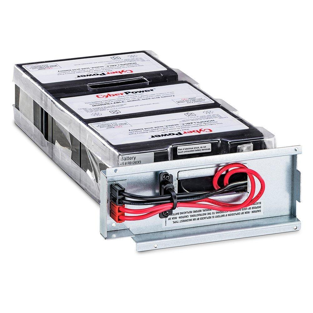 CyberPower RB1290X3L Replacement Battery Cartridge, Maintenance-Free, User Installable