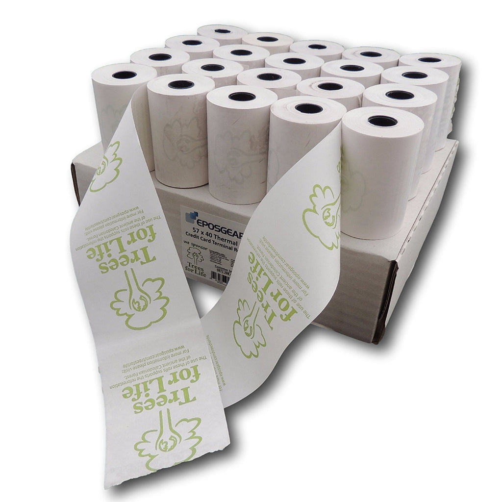 Till rolls/Chip & Pin Rolls For Ingenico Sagem ICT250 57x40 thermal Credit card Machine Rolls