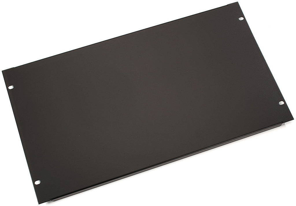 "Black Box Filler Panel, Black, 6U (10.50"")"