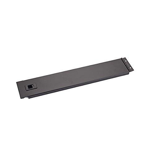 Black Box Network Services 2u Hinged Rackmount Solid Panel Black