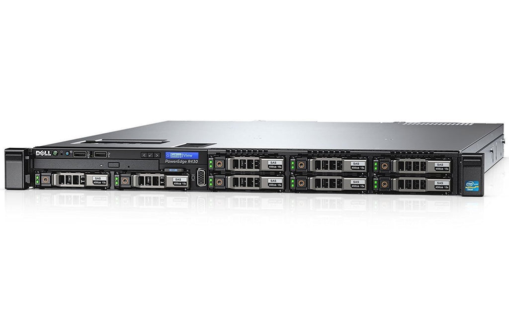 POWEREDGE R430 2S/1U E5-2603V4 1P 8GB 550W 8SFF-HP 300GB 10K SAS
