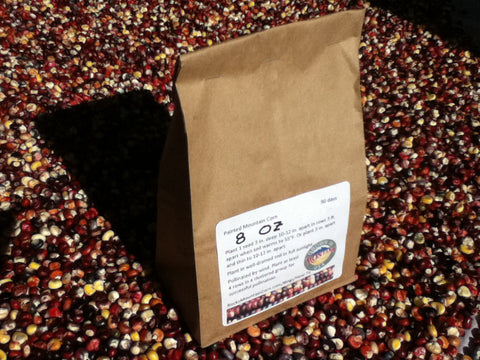 0.5 lb Alpine Varietal of Painted Mountain Corn Seed