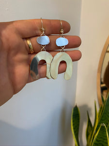 Organic Arch Earrings
