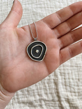 Load image into Gallery viewer, Topo necklace with sterling silver dot