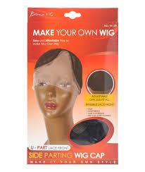 [KIM & C] U-PART LACE WIG CAP - SIDE