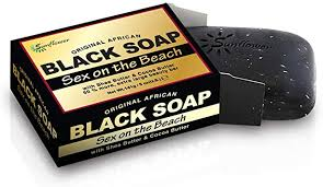 AFRICAN BLACK SOAP [SEX ON THE BEACH] (5OZ)