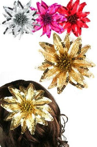 FLOWER HAIR CLIP 3IN1 [FLOWER] #3018