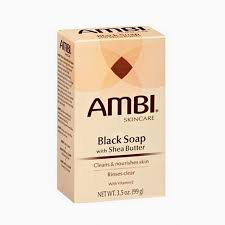 AMBI BLACK SOAP (3.5OZ)