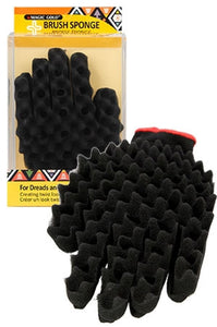 MAGIC GOLD CURLING SPONGE GLOVE -SMALL HOLES 5/8