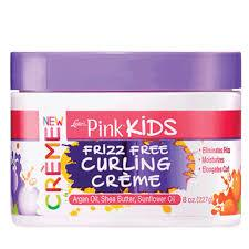 [PINK] KIDS FRIZZ FREE CURLING CREME (8OZ)