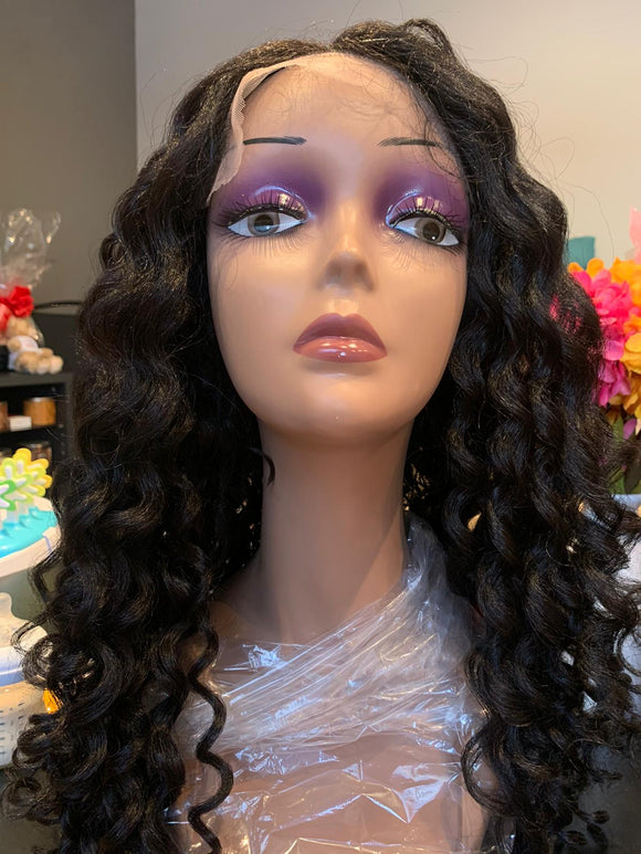 Curls Kinks & Co Synthetic Hair Empress Lace Front Wig - WILD ONE