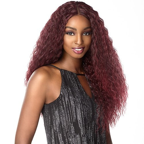 SENSATIONNEL EMPRESS SYNTHETIC LACE FRONT WIG NATURAL PART TAMAR