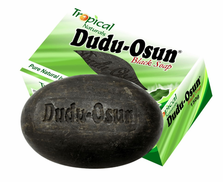 DUDU OSUN AFRICAN BLACK SOAP - 5OZ