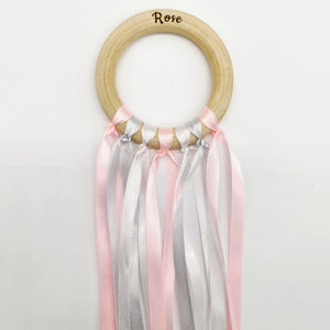 Baby Pink Sensory Ribbon Ring