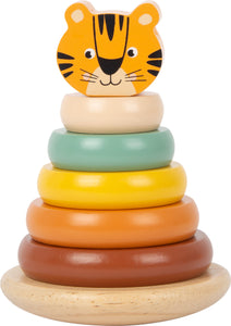 Wooden Tiger Stacking Tower