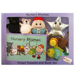 Load image into Gallery viewer, Nursery Rhymes Finger Puppet & Book Set