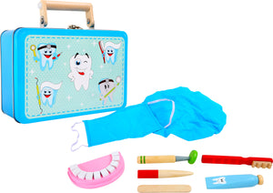 Wooden Dentist Kit