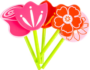 Wooden Flower Set with Watering Can