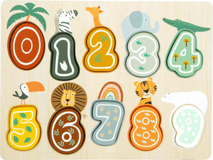 Safari Number Puzzle