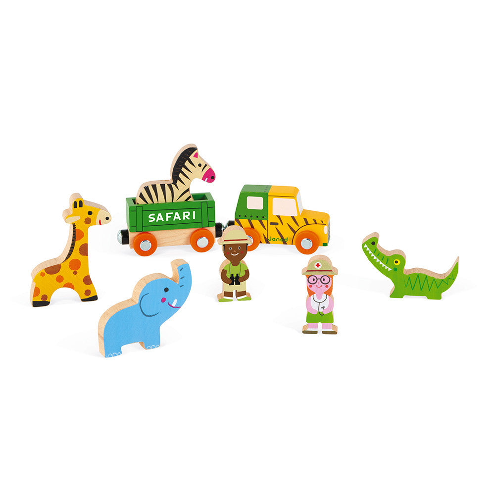 Wooden Safari Set