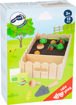 Load image into Gallery viewer, Wooden Vegetable Growing Play Set