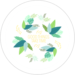 Good Things Take Time, Embroidery Hoop Kit, Embroidery project for beginners through to advanced