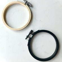 Load image into Gallery viewer, Black Embroidery Hoop