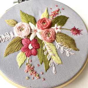Floral Spray Wall Hanging