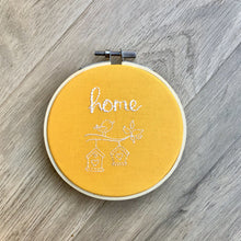 Load image into Gallery viewer, Home Embroidery Hoop Wall Hanging