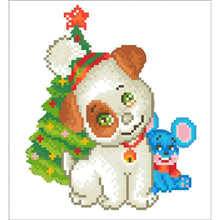 Load image into Gallery viewer, Diamond Dotz - Christmas Pup & Mouse