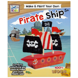 Make & Paint Your Own Pirate Ship