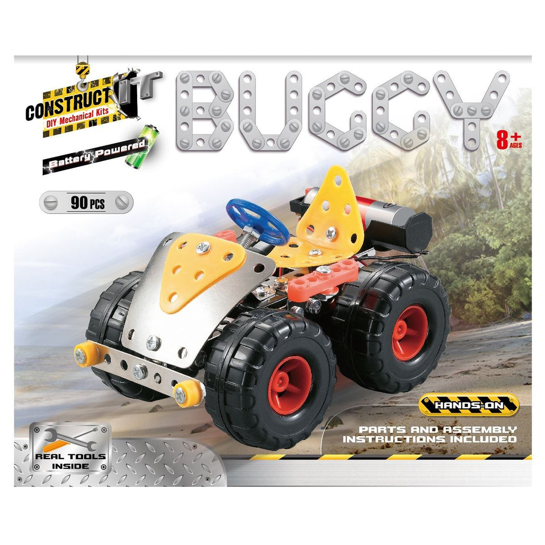 Construct-It – Battery Powered Buggy 90 Piece Kit