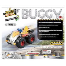 Load image into Gallery viewer, Construct-It – Battery Powered Buggy 90 Piece Kit
