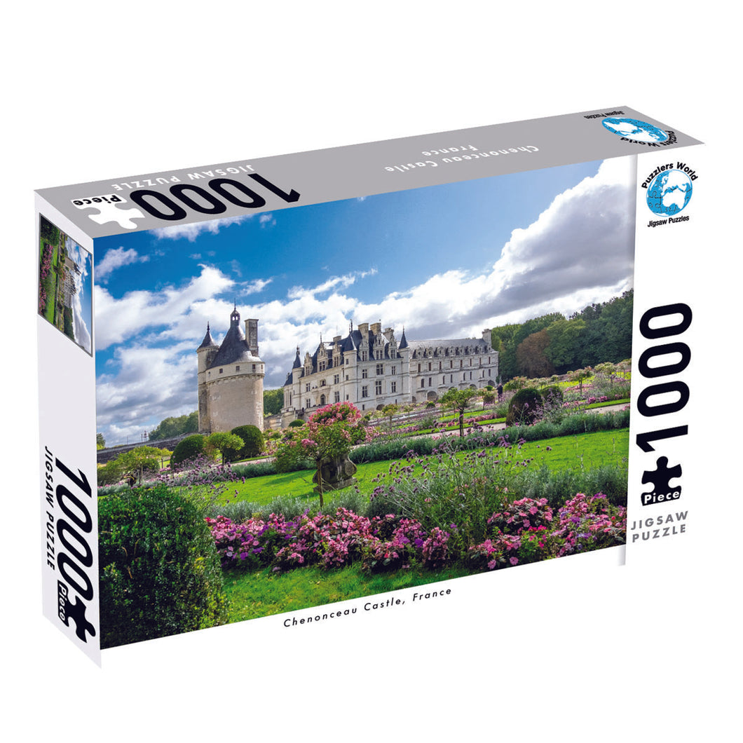 Puzzlers World – Chenonceau Castle France