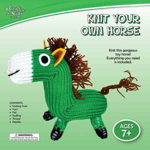 Knit Your Own Teddy Bear & Knit Your Own Horse