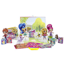 Load image into Gallery viewer, Shimmer and Shine – Storybook Paper Doll Kit