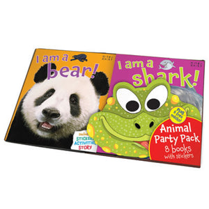 Animal Party Pack 8 Book Set – By Belinda Gallagher