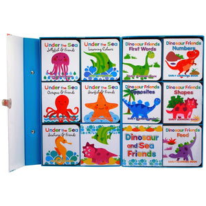 Dinosaur And Sea Friends Carry Case