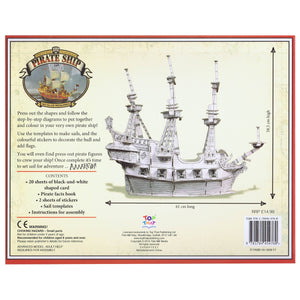 Press Out And Build – Pirate Ship