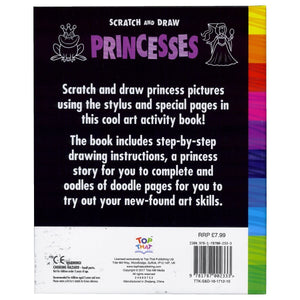 Scratch and Draw – Princesses