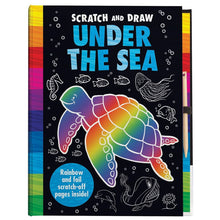 Load image into Gallery viewer, Scratch and Draw – Under the Sea