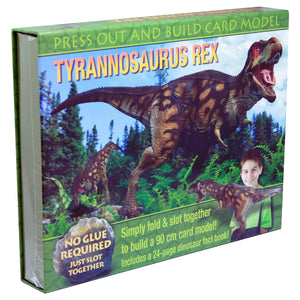 Press Out And Build – Tyrannosaurus Rex