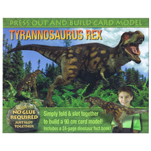 Load image into Gallery viewer, Press Out And Build – Tyrannosaurus Rex
