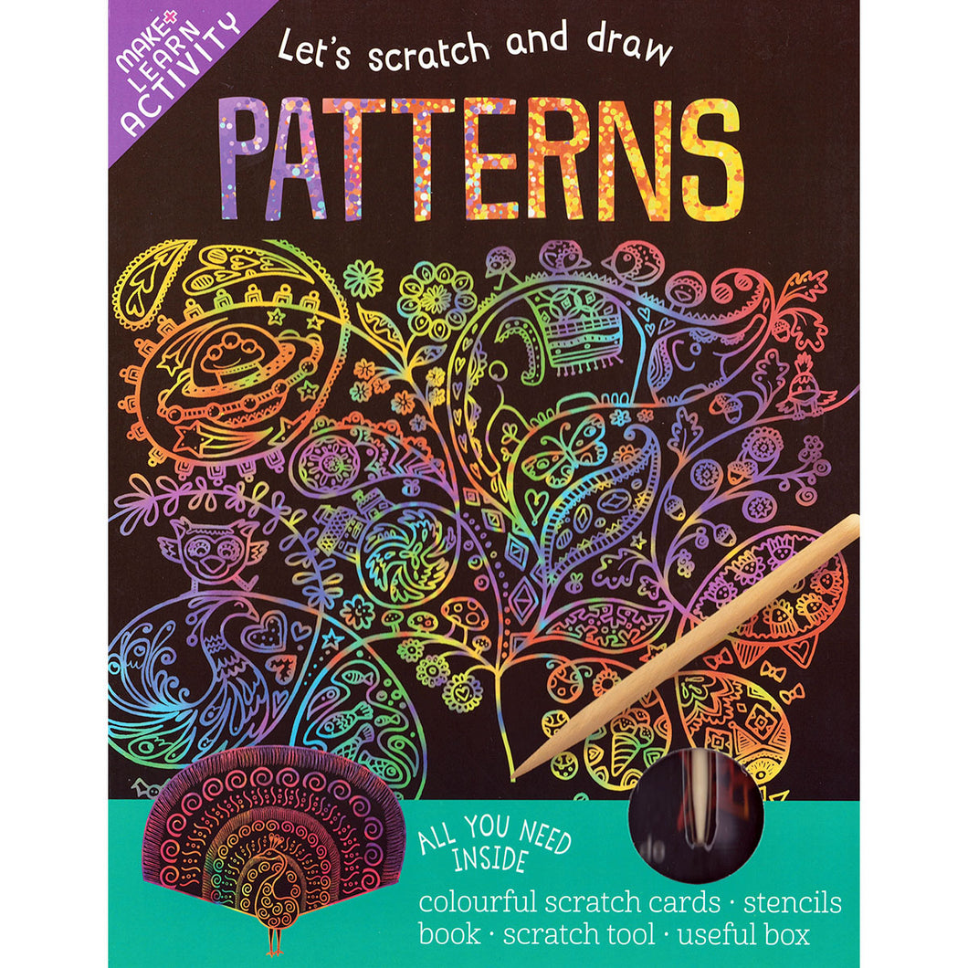 Scratch and Draw – Patterns